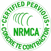 Certified Pervious Concrete Contractor